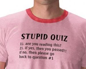stupid-quiz